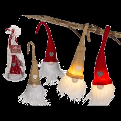 Weihnachtwichtel mit LED