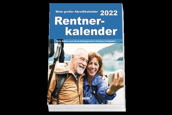 Rentner Kalender 2022